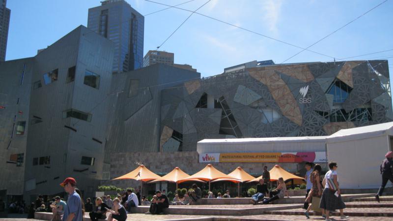 Zona de los artistas , en Melbourne -