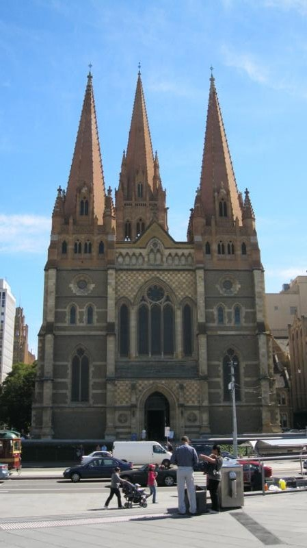 Iglesia , en Melbourne .