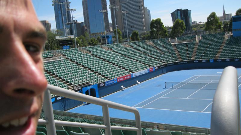 Rod Laver Arena , en Melbourne .