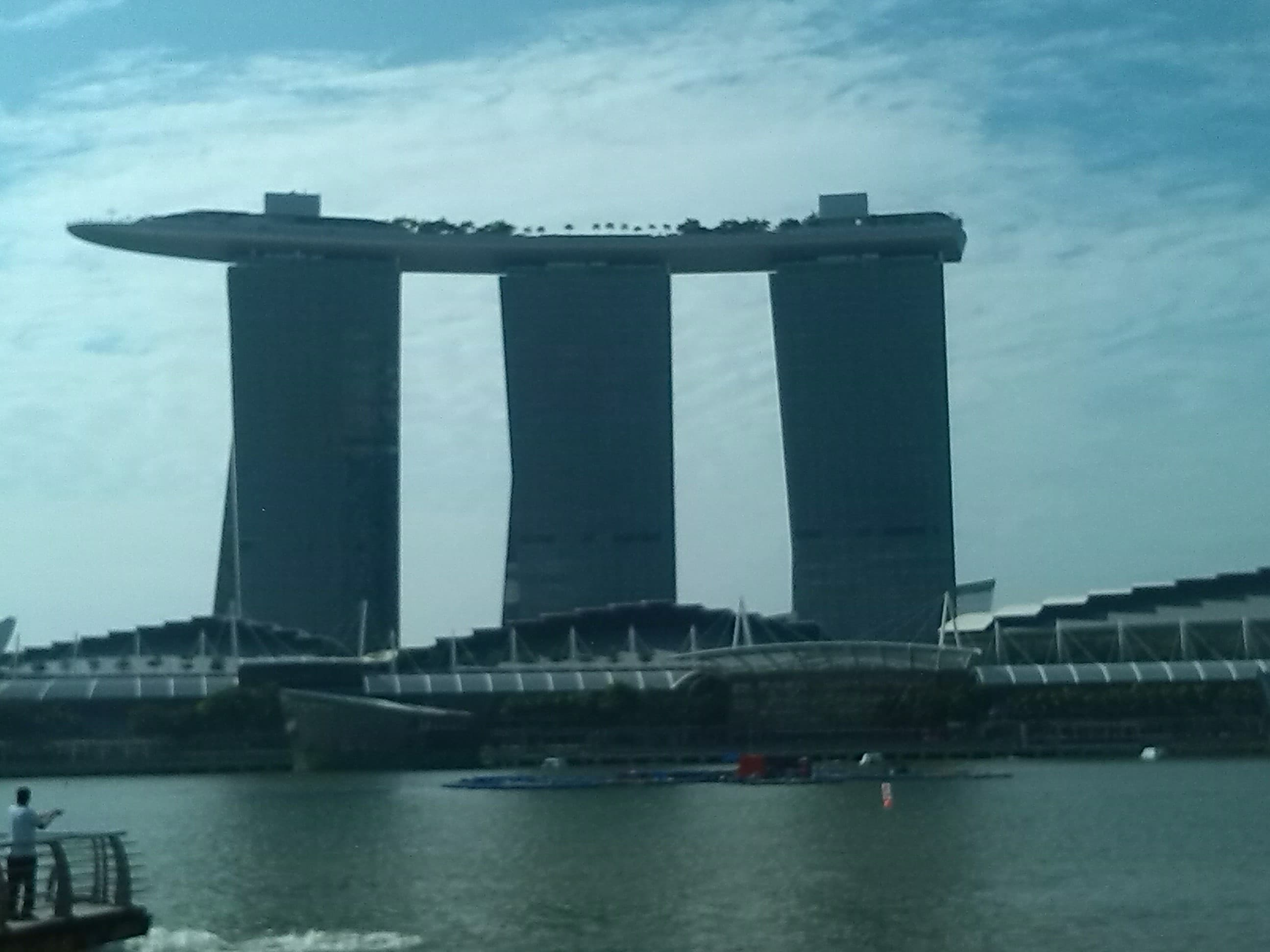 Hotel Marine Bay , en Singapur ,