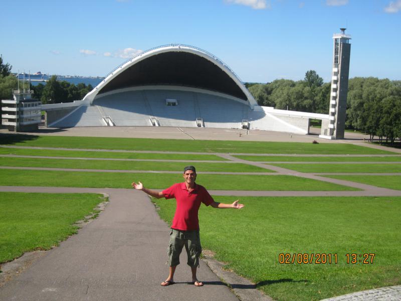 En el Auditorio , en Tallin .