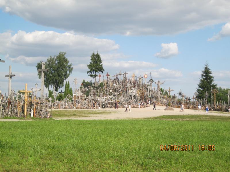 La Colina de las Cruces , en Lituania .