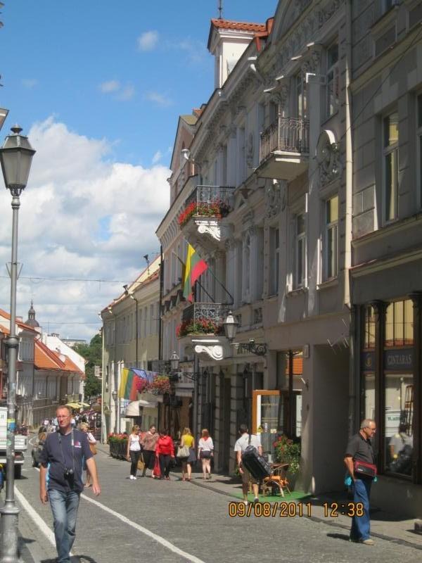 Centro Historico , en Vilnius .