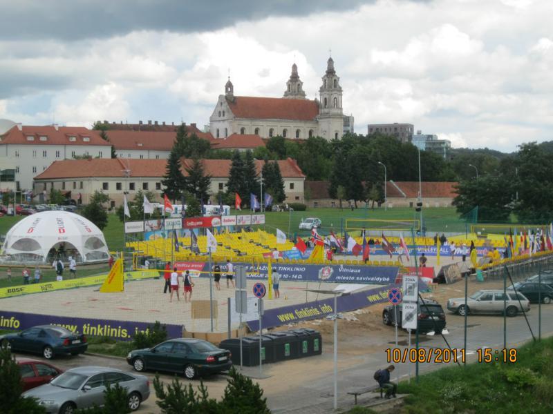 Zona de la Cultura , en Vilnius .