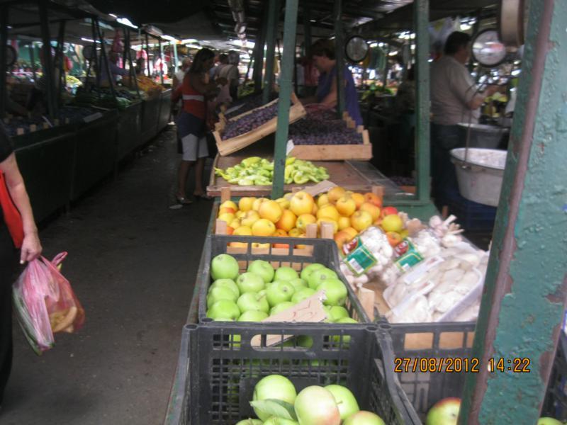 Mercado callejero .