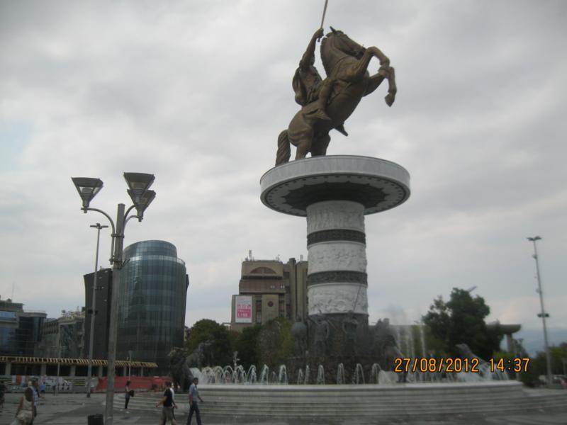 Plaza en el Centro Historico .