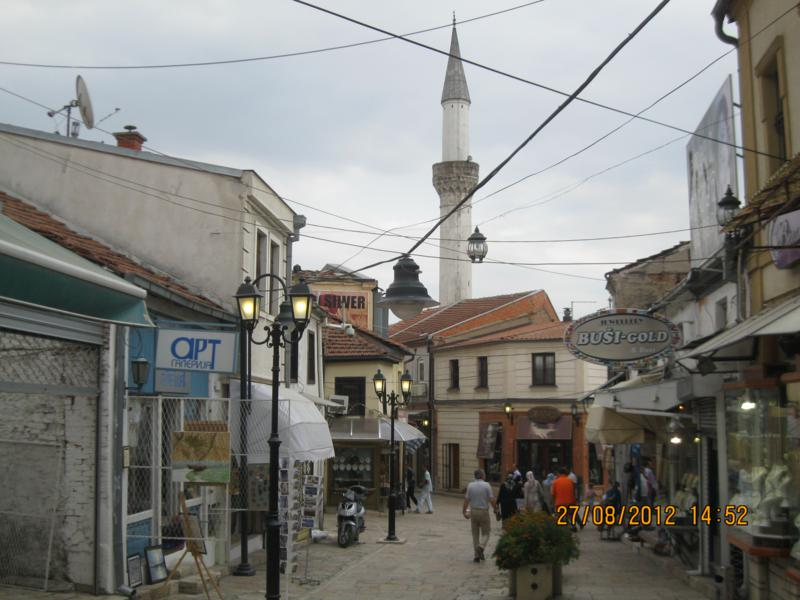 Paseando por Skopje .