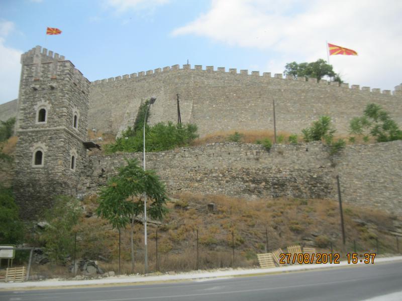 Castillo , en Skopje .