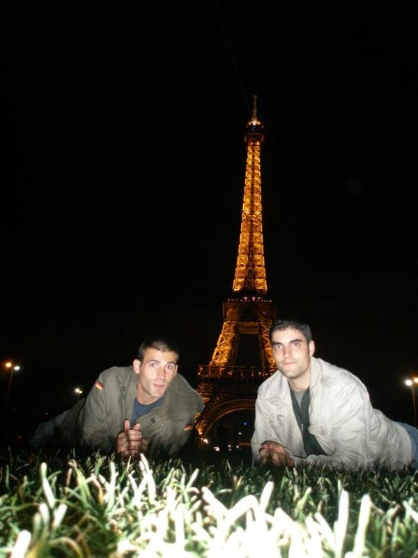 Torre Eiffel .