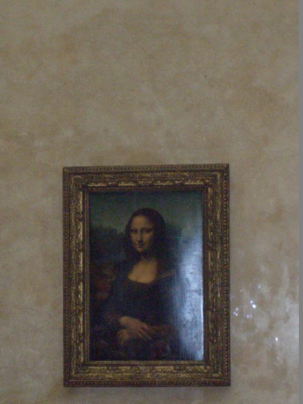La  Mona Lisa .