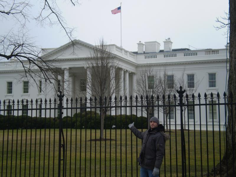 En La Casa Blanca .