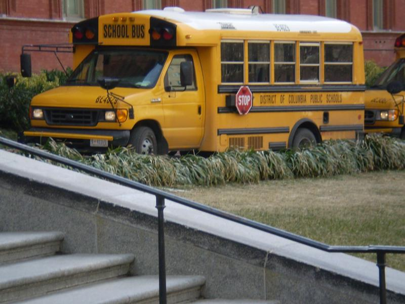 Tipico bus americano .