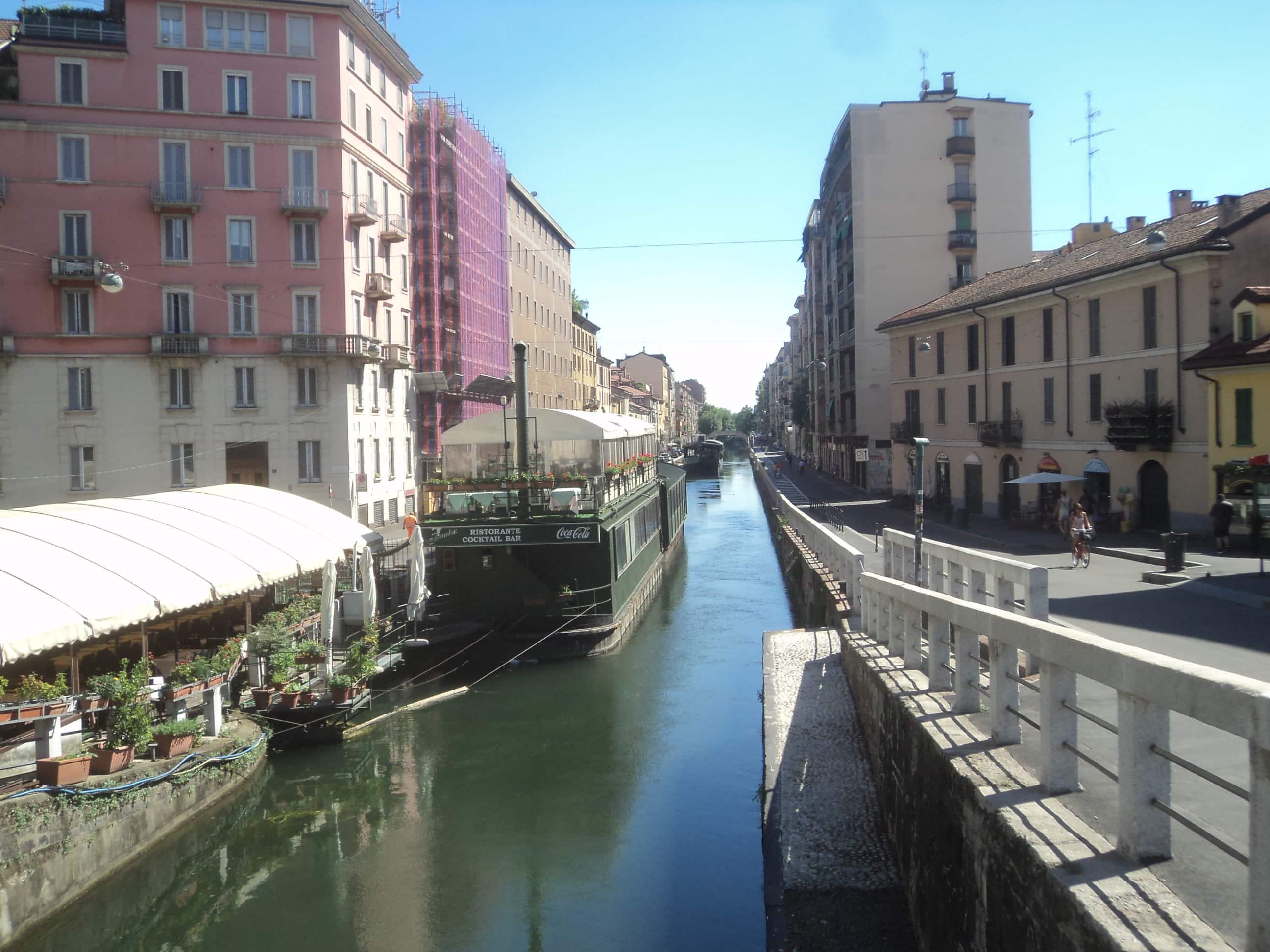 Paseando por Milan .