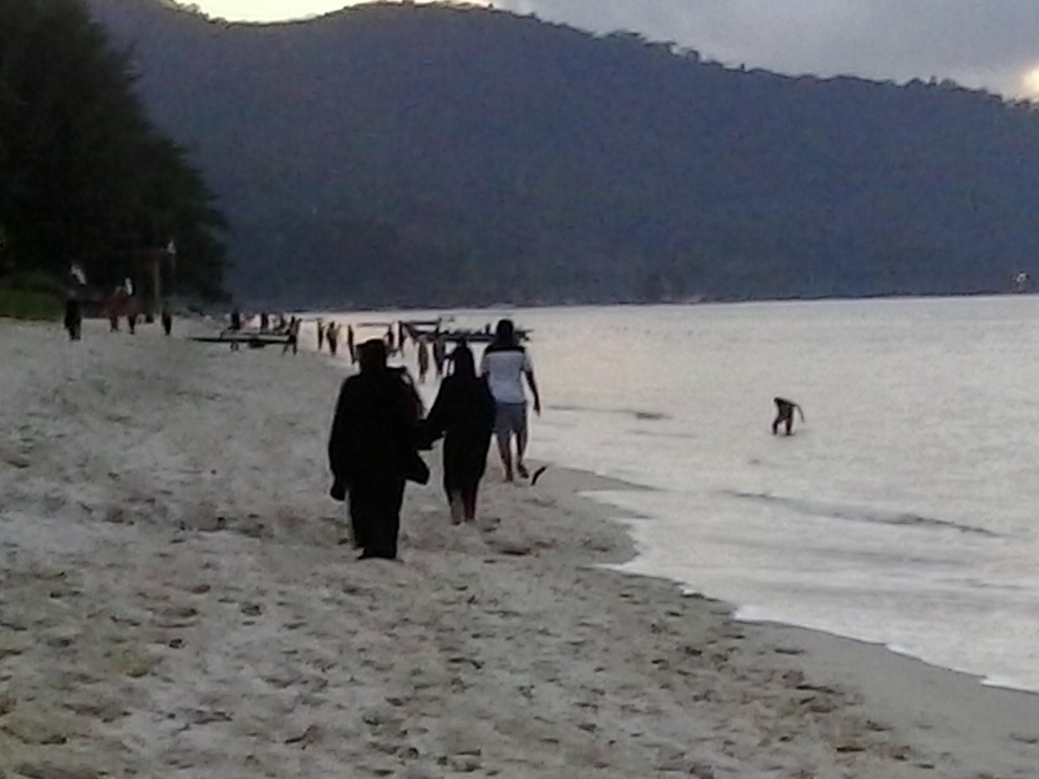 Playa , en Batu Ferringhi .