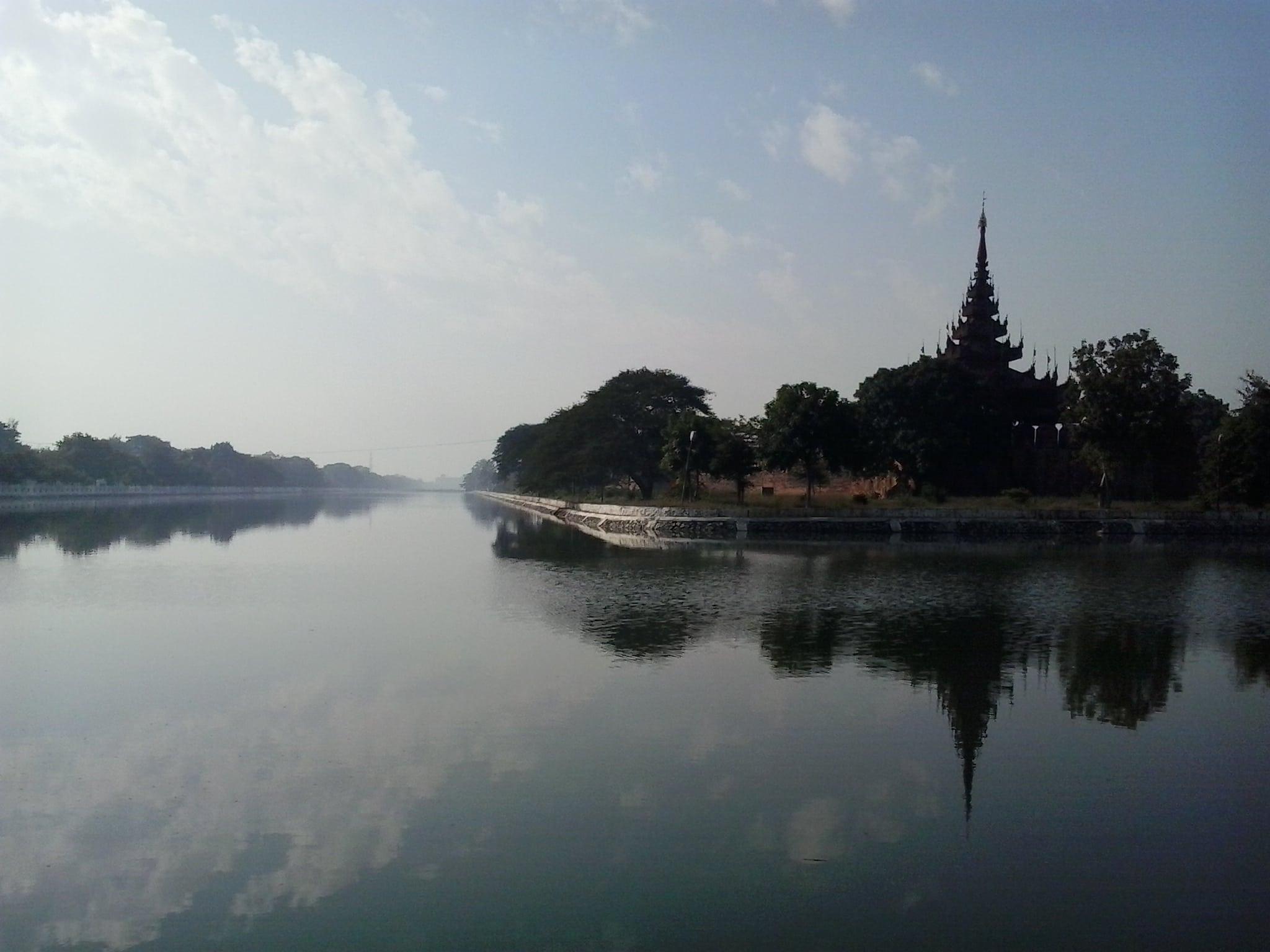 Palacio Real , en Mandalay .
