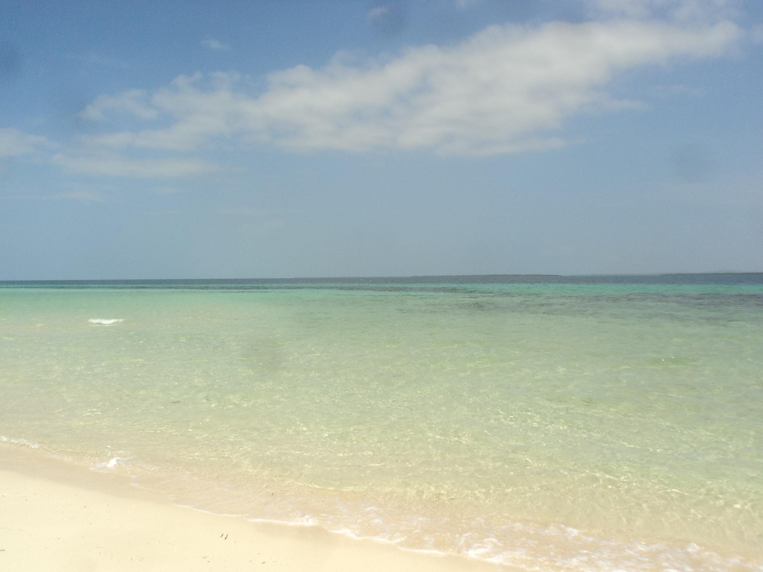 Playa paradisiaca .