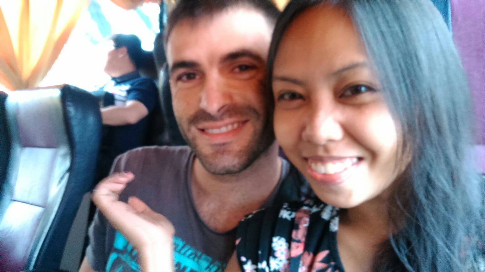 Bus a Manila .