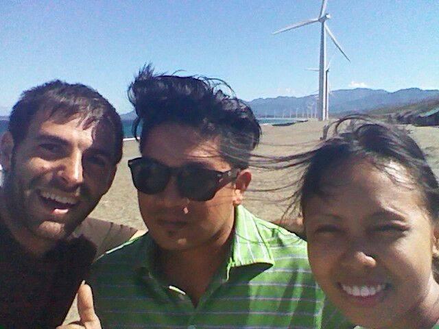 Visitando los molinos de viento .