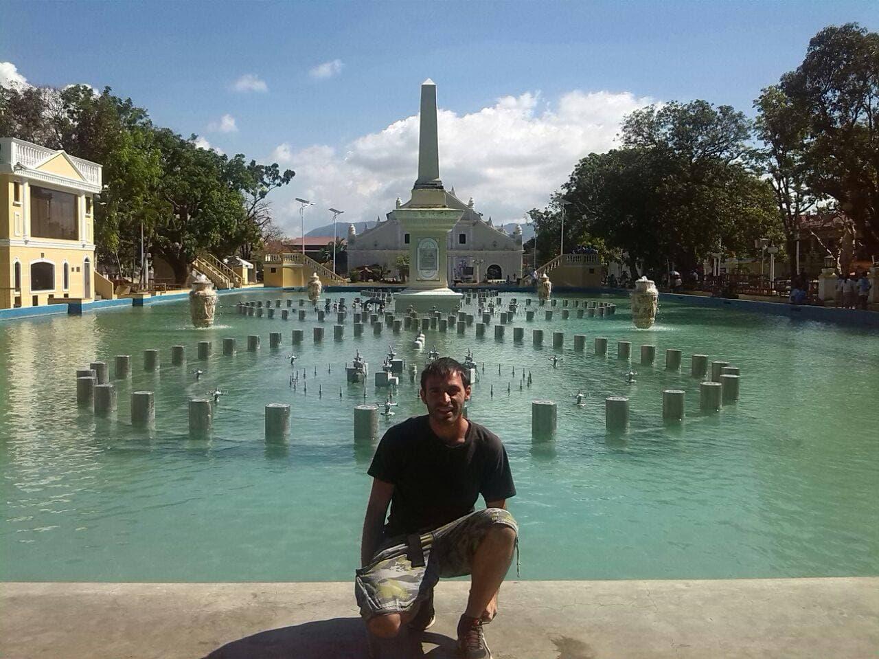 Plaza  , en Vigan .