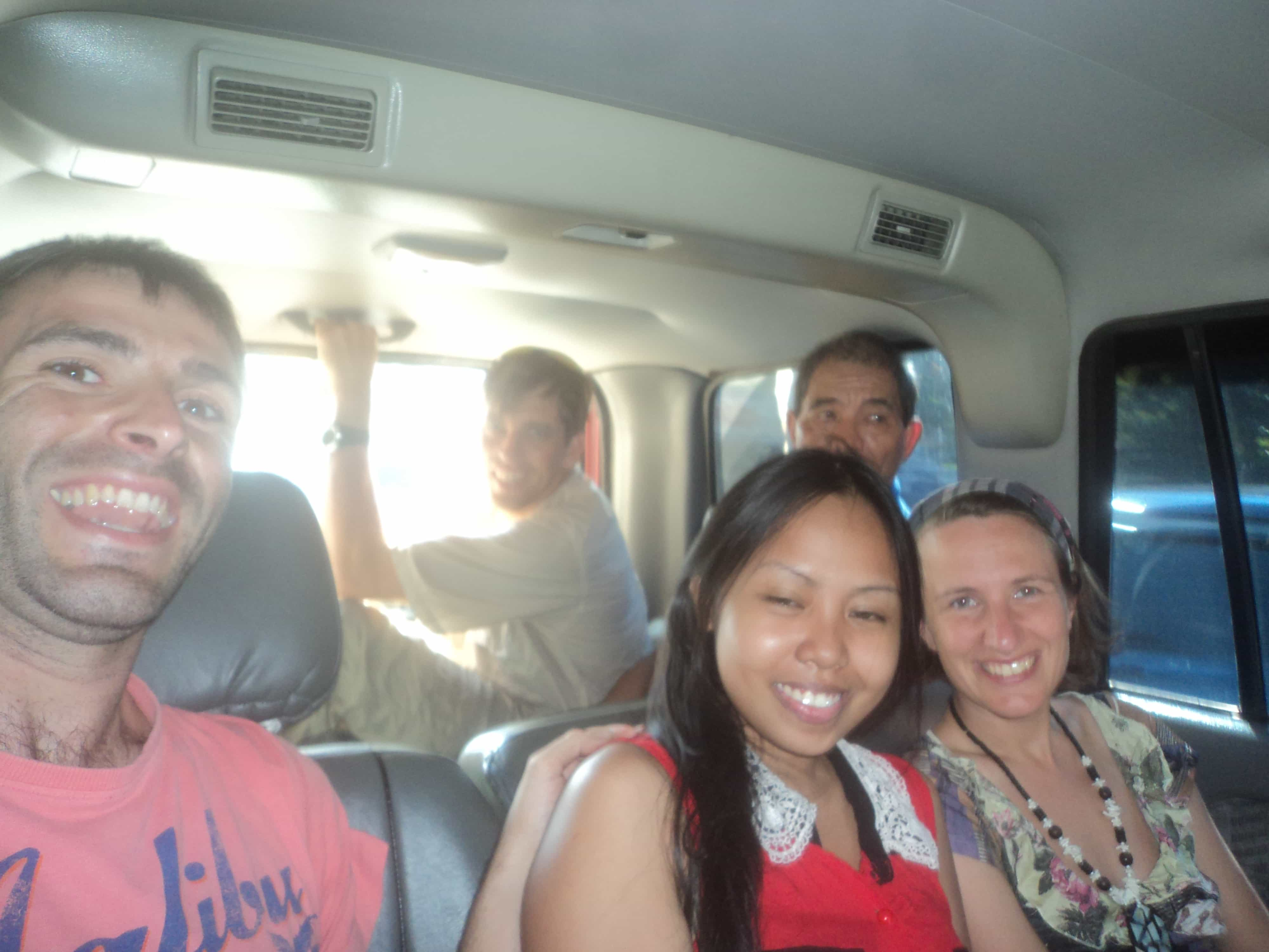 Llegando a San Fernando .