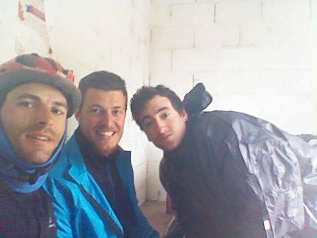 Con Gonzalo y Jesus .