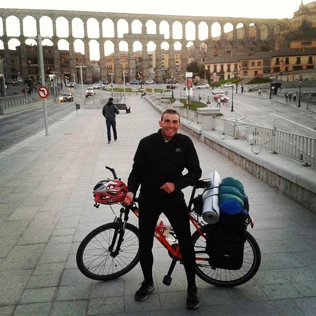 Acueducto de Segovia .