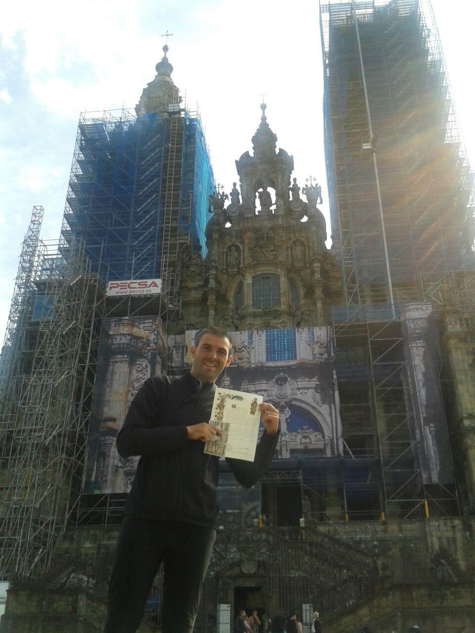 Santiago Way , Done !!