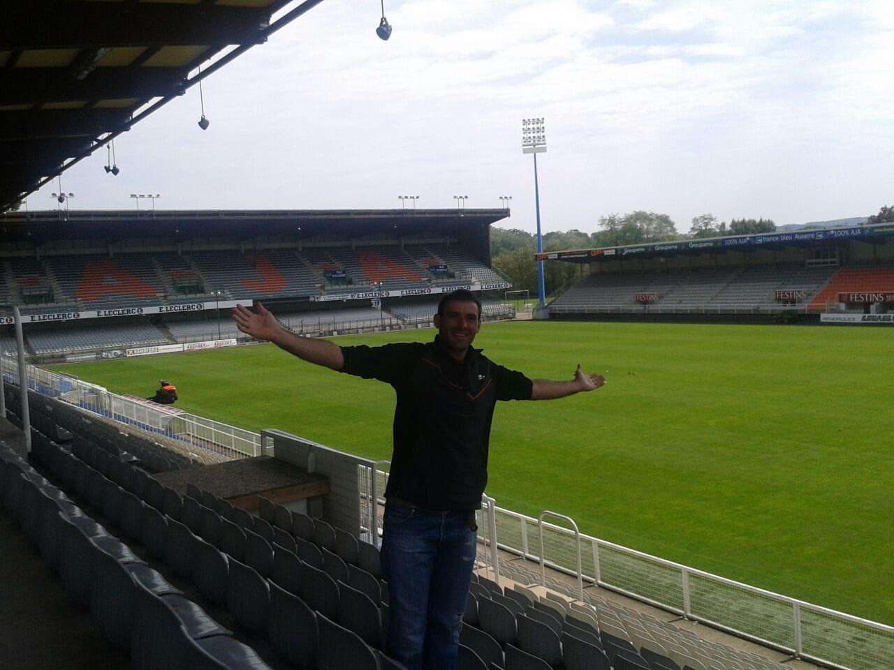 Estadio del Auxerre .