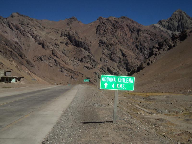 Viajando a dedo, Chile.