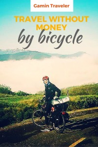Travel without money by bicycle