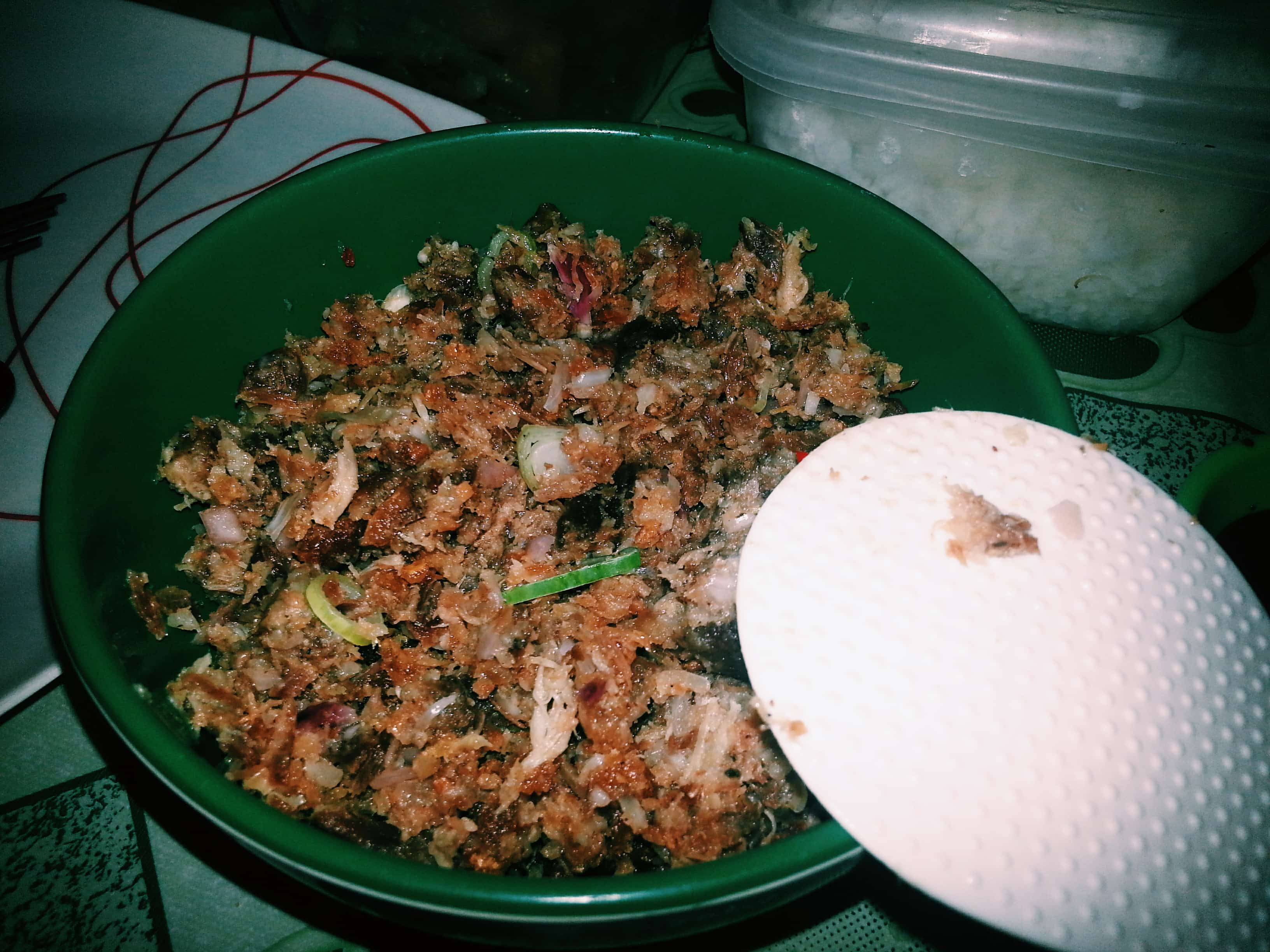 Sisig, cooked in Angeles City, Pampanga