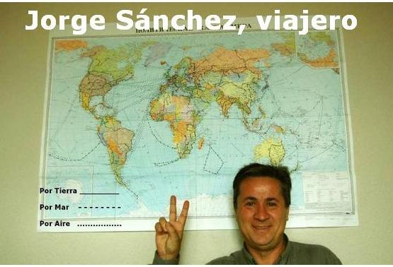 Jorge Sánchez. El viajero