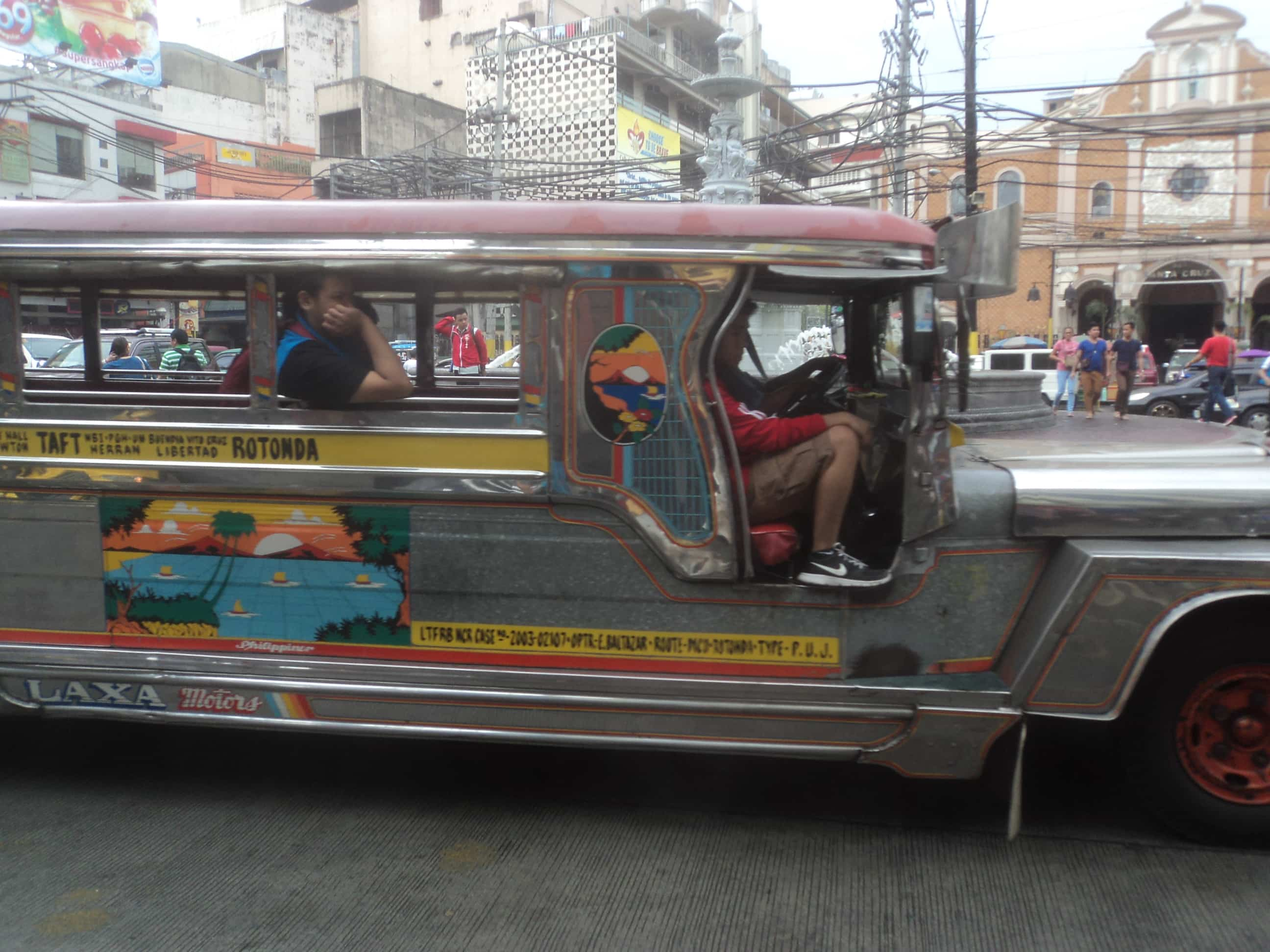Traveling in a low budget Philippines.