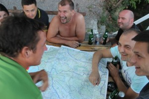 Drinking beers. Cycling across Europe