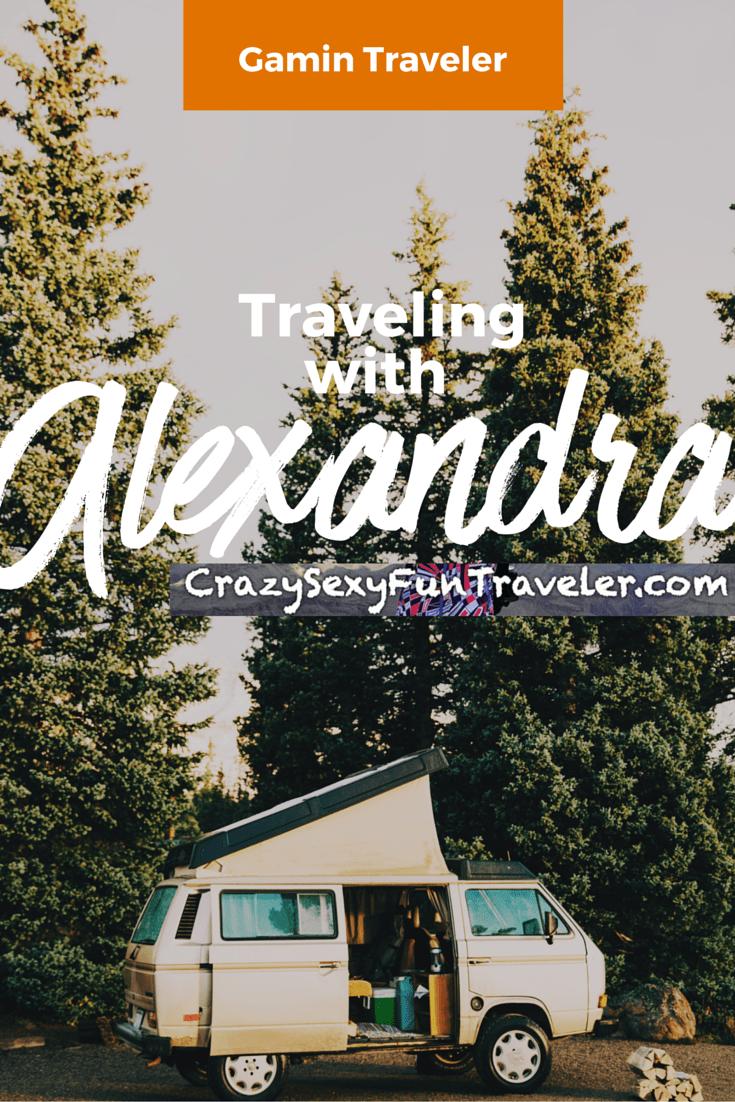 Gamin Traveler Interview with Alexandra Kovacova of Crazy Sexy Fun Traveler
