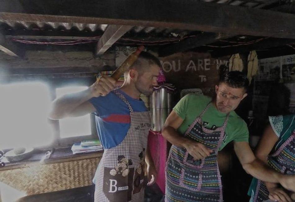 Stefan and Sebastien from Nonadic boys