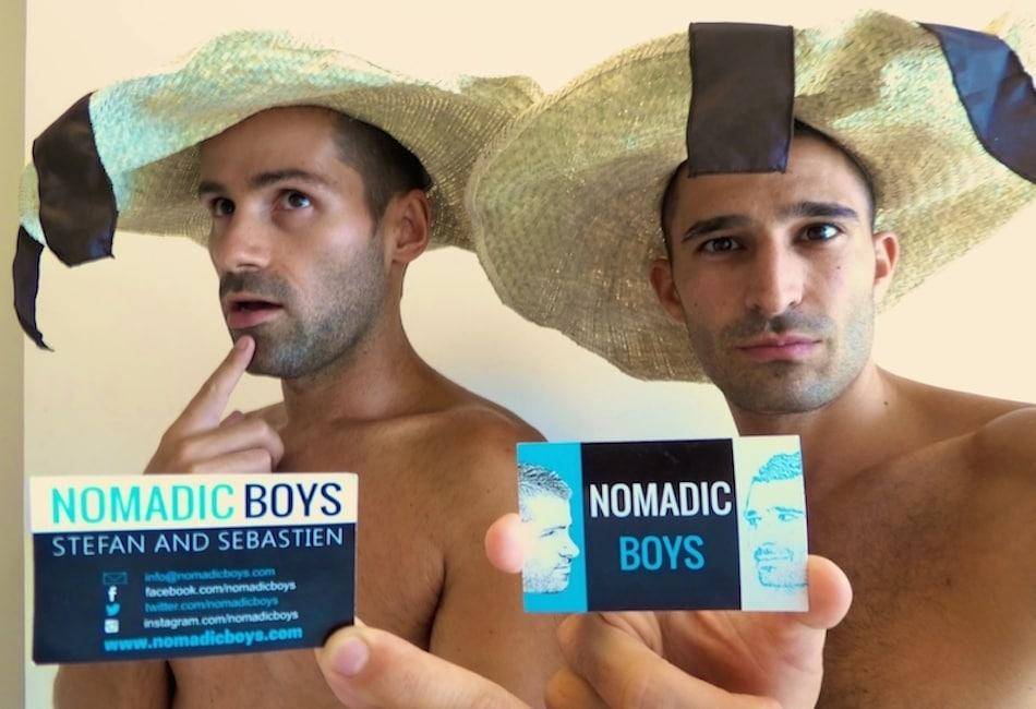 Stefan and Sebastien from Nomadic boys