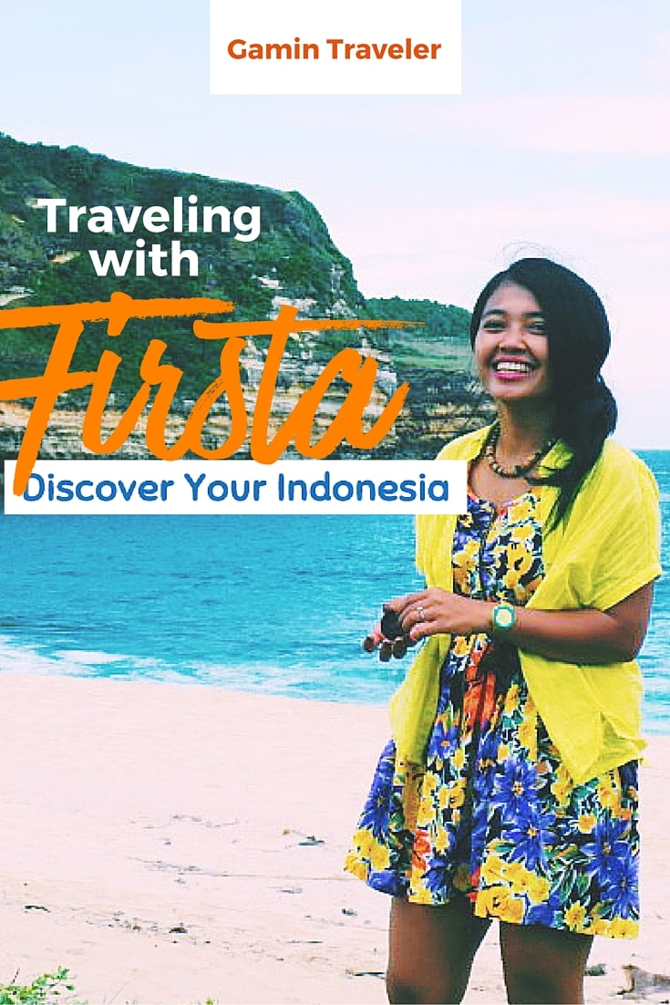 Firsta the writer for Discover your Indonesia shared to us her travel and blog stories.