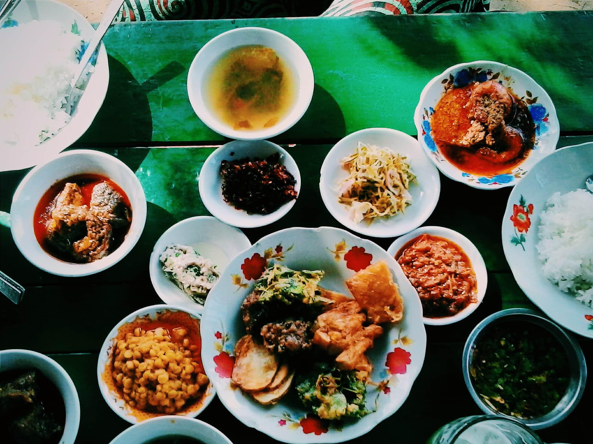 Myanmar Food.