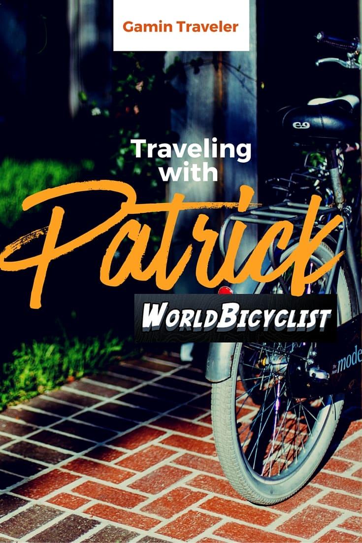 Interview with Patrick Schroeder of WorldBicyclist Pinterest