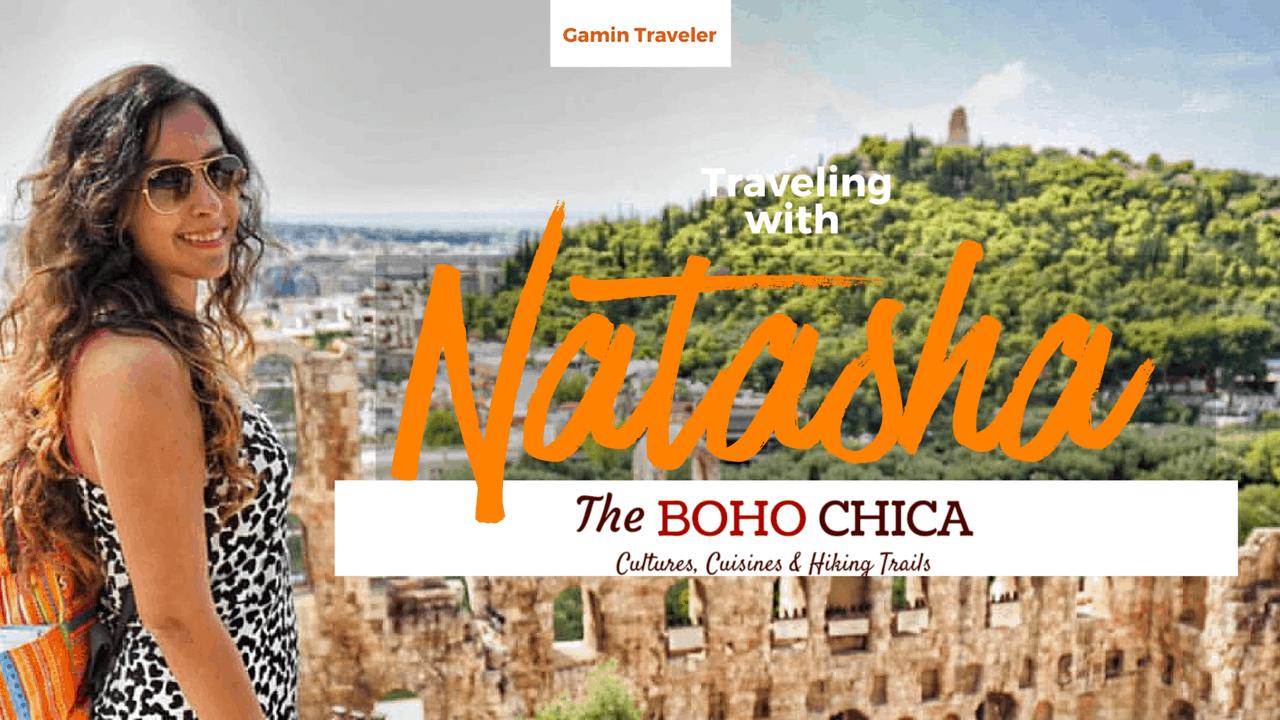 Natasha of The Boho Chica is a Dubai-based travel blogger.