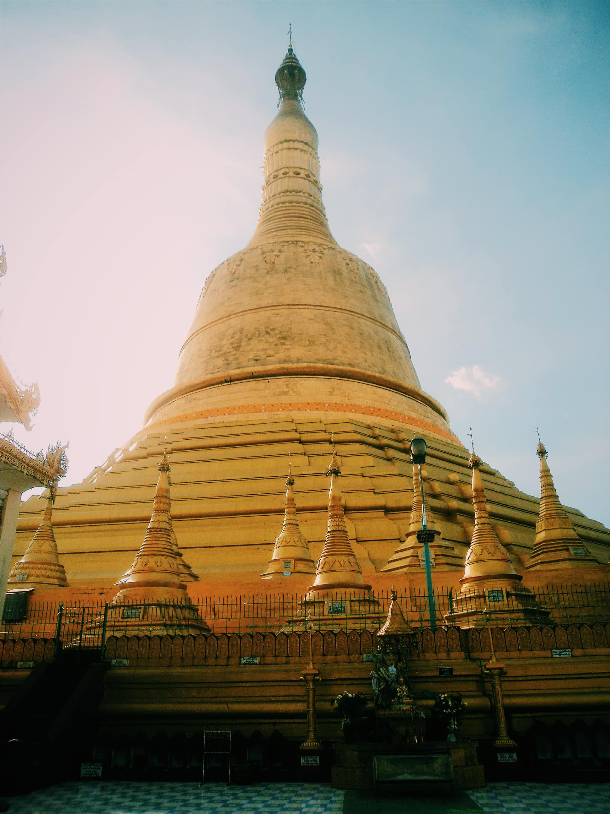 Pagoda. Travel Myanmar in a low budget.