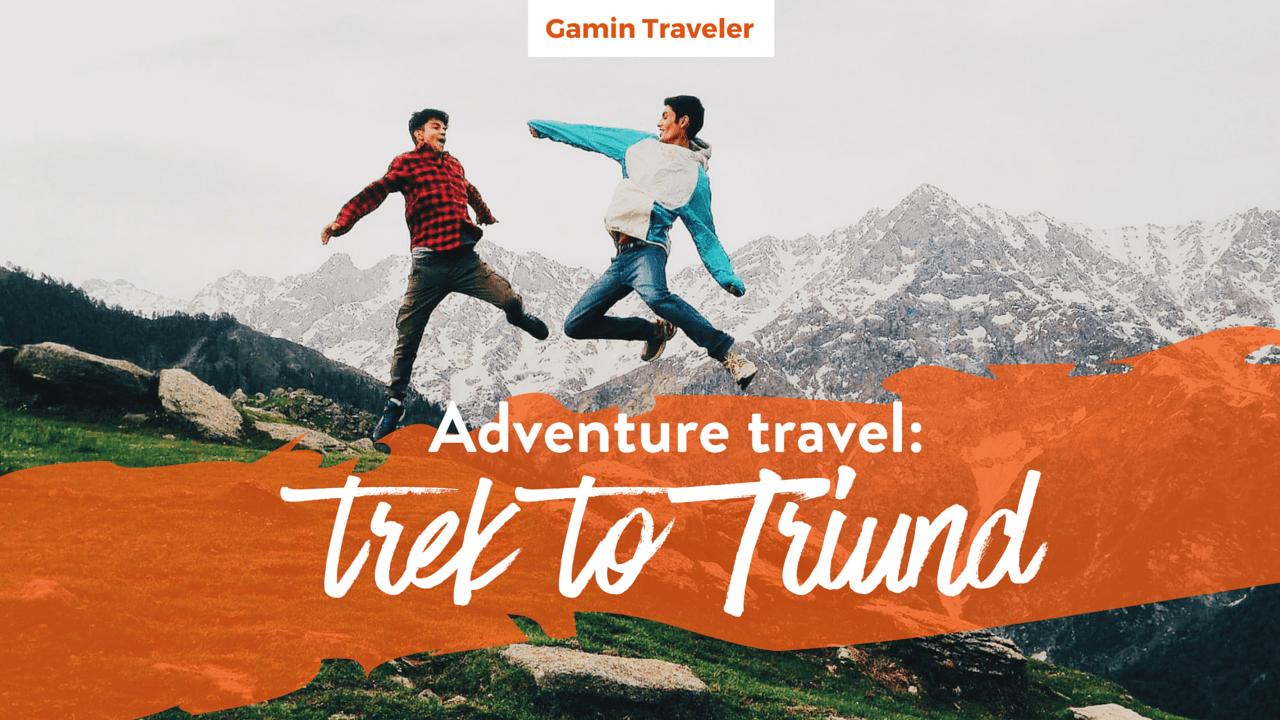 Trek to Triund Adventure Travel Featured Image