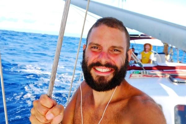 Sailing across Indian Ocean. Tomislav Perko