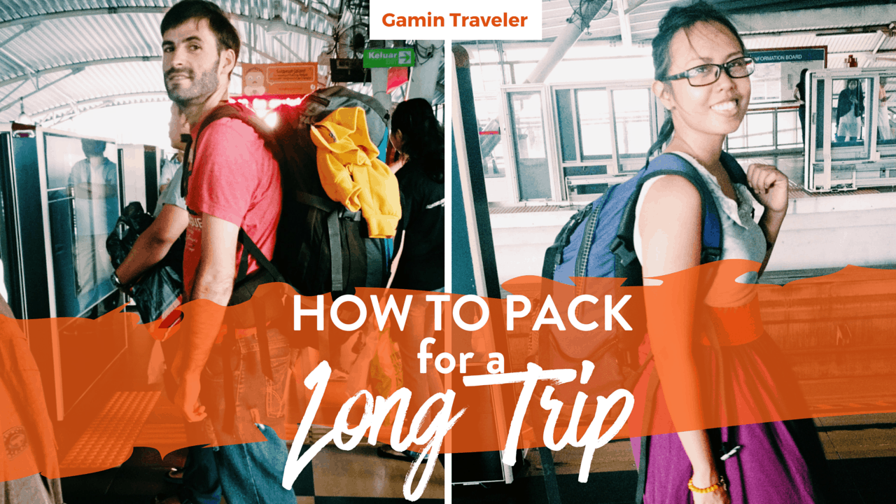 How to Pack for a Long Trip Facebook