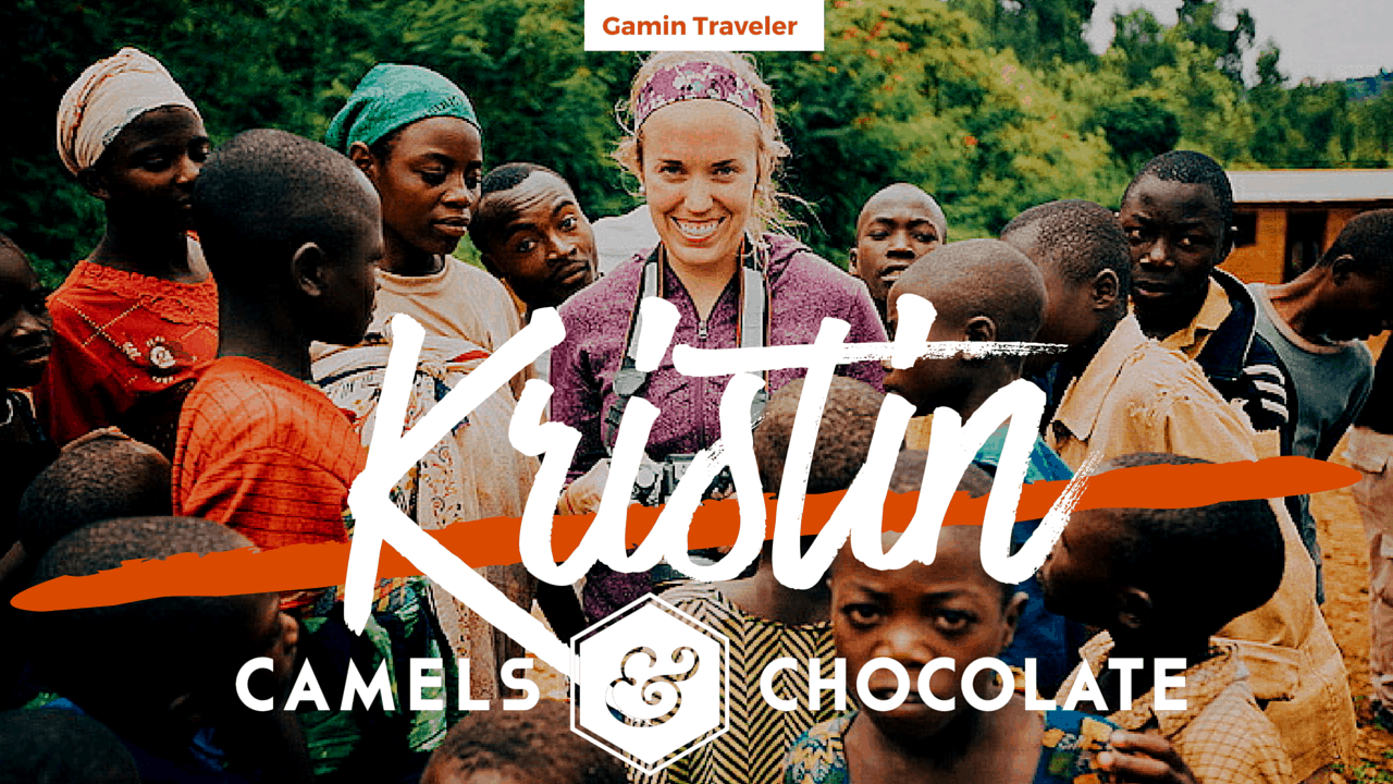 Kristin Luna of Camels and Chocolate Facebook Featured