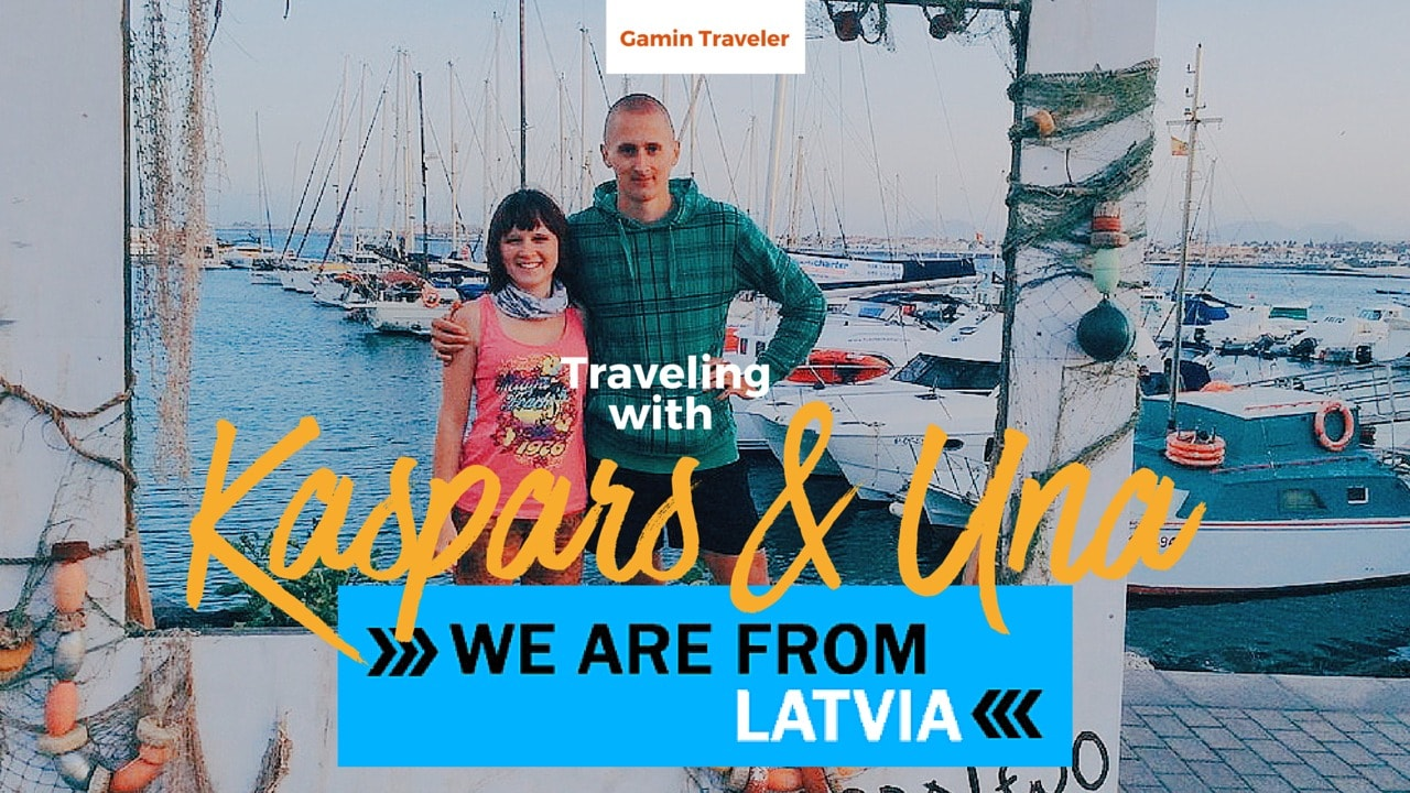 Kaspars and Una of We are from Latvia are travel bloggers who travel as a couple
