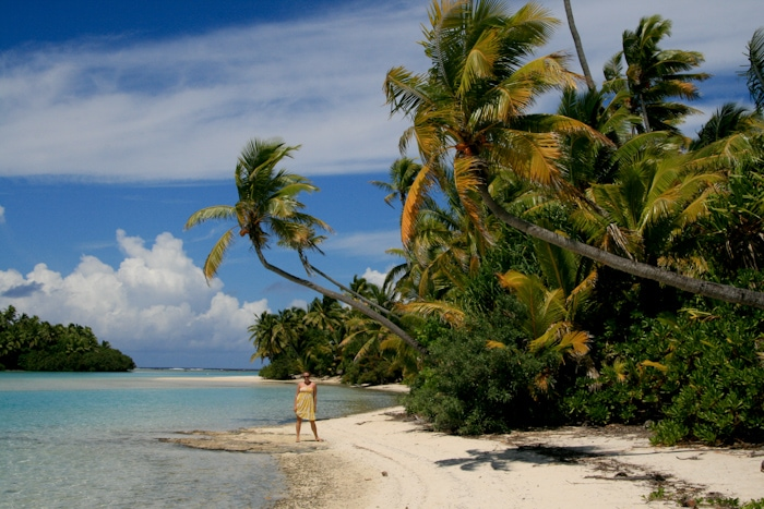kristin in cook islands