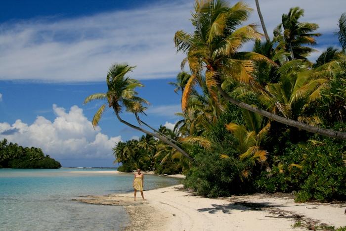 kristin in cook islands