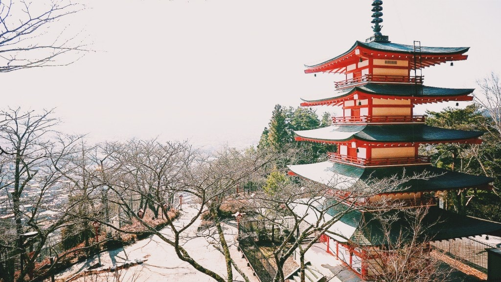 When you travel in Japan, you'll see a lot of temples.